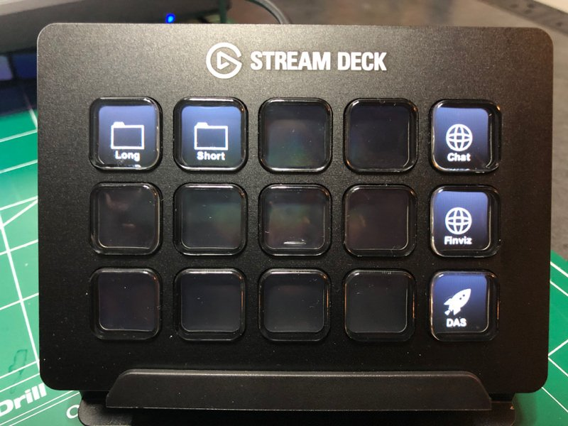 Streamdeck starting point