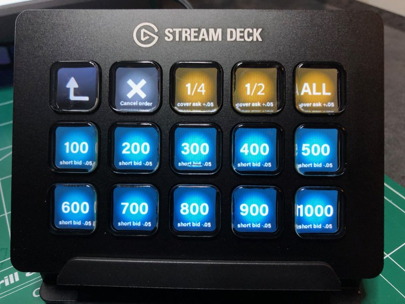 Streamdeck short